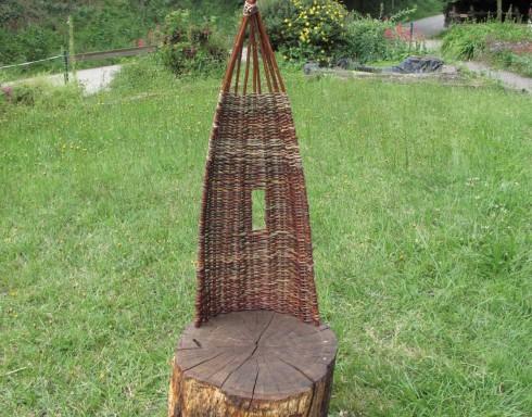 Stage fauteuil en osier vivant. Ferme d'Antan. Pledeliac