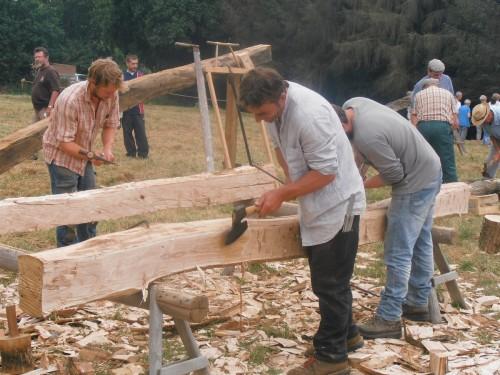 Fête du bois au village d'antan @ la ferme d'antan